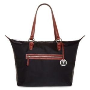 Liz Claiborne Large Nylon Tote - Breezing Through