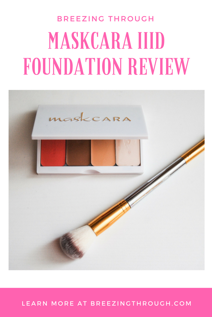 Maskcara IIID Foundation Review | Breezing Through
