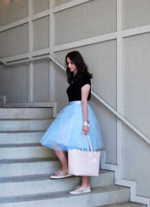 Blue Tulle | Breezing Through 3