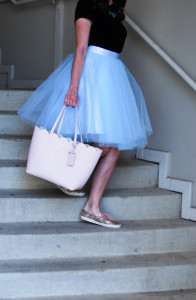 Blue Tulle | Breezing Through 5