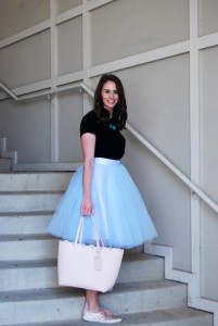 Blue Tulle | Breezing Through 6