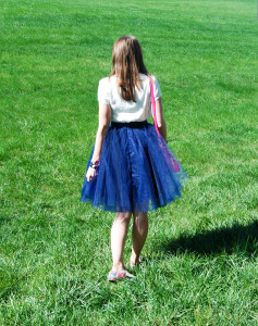 Navy Tulle | Breezing Through 10