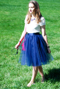 Navy Tulle | Breezing Through 4