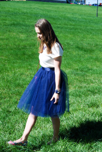 Navy Tulle | Breezing Through 5