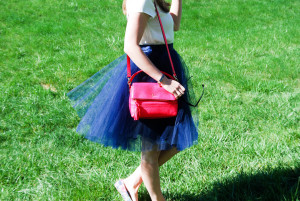 Navy Tulle | Breezing Through 8