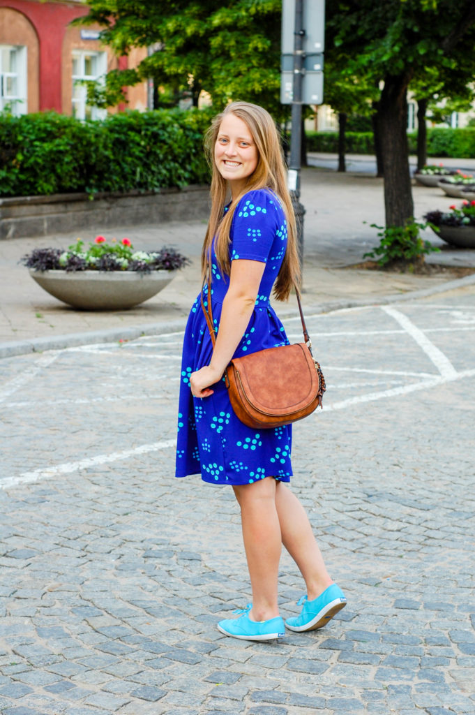 Blue Dress | Breezing Through Instagram 2