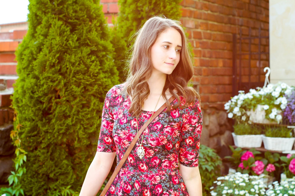 Floral Dress | Breezing Through-16-2