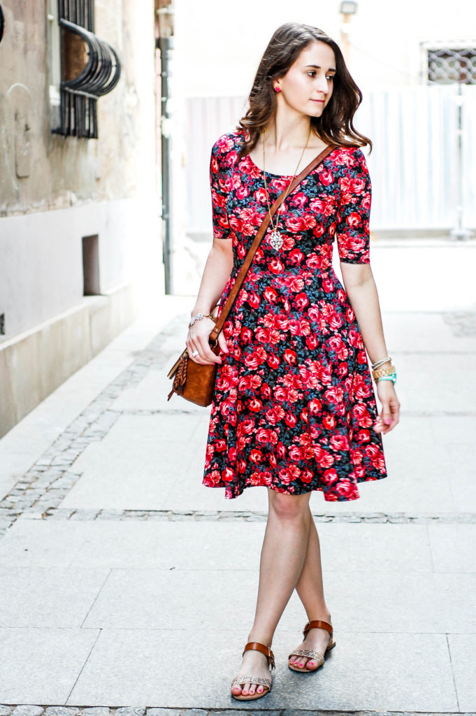 Floral Dress | Breezing Through-17