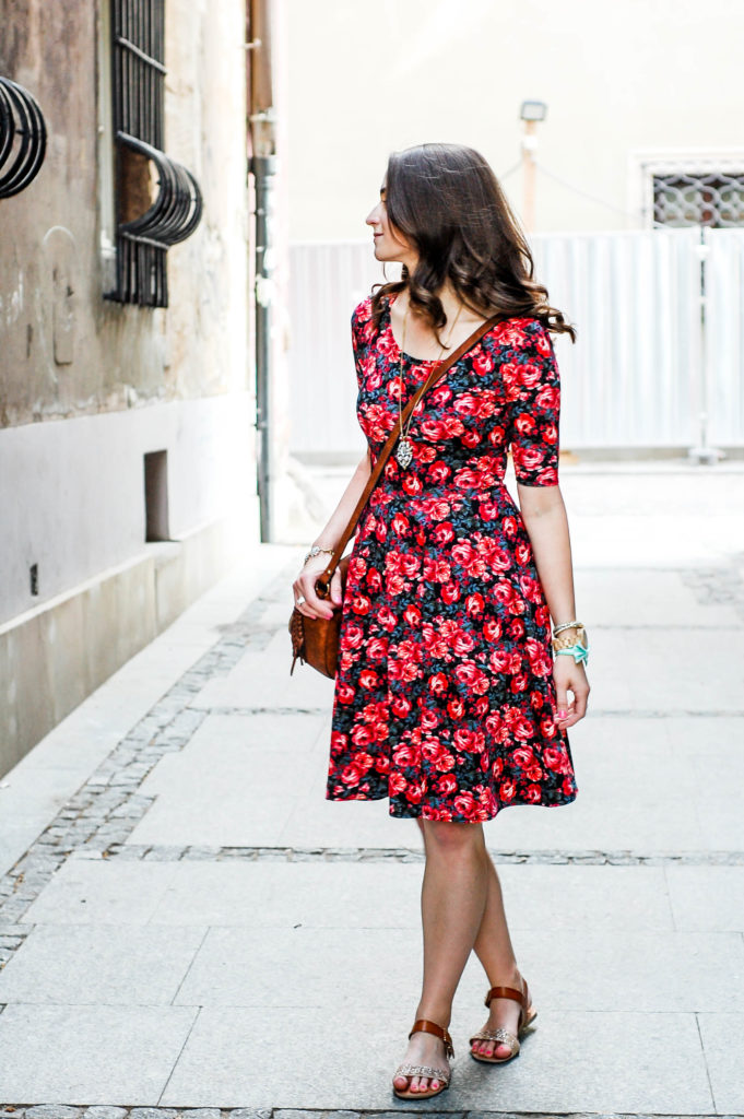 Floral Dress | Breezing Through-18