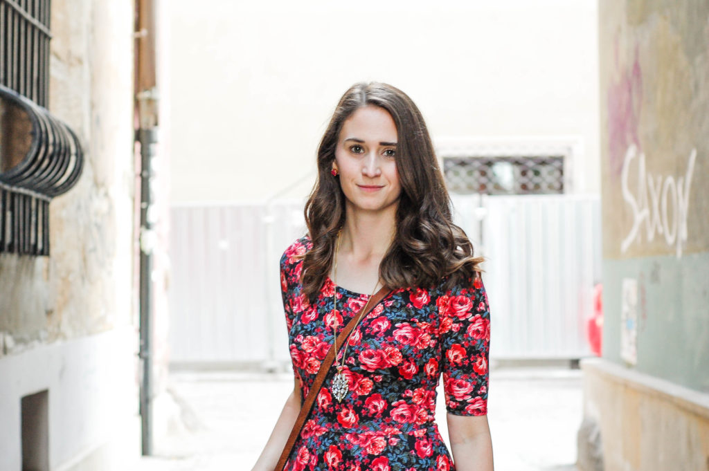 Floral Dress | Breezing Through-24