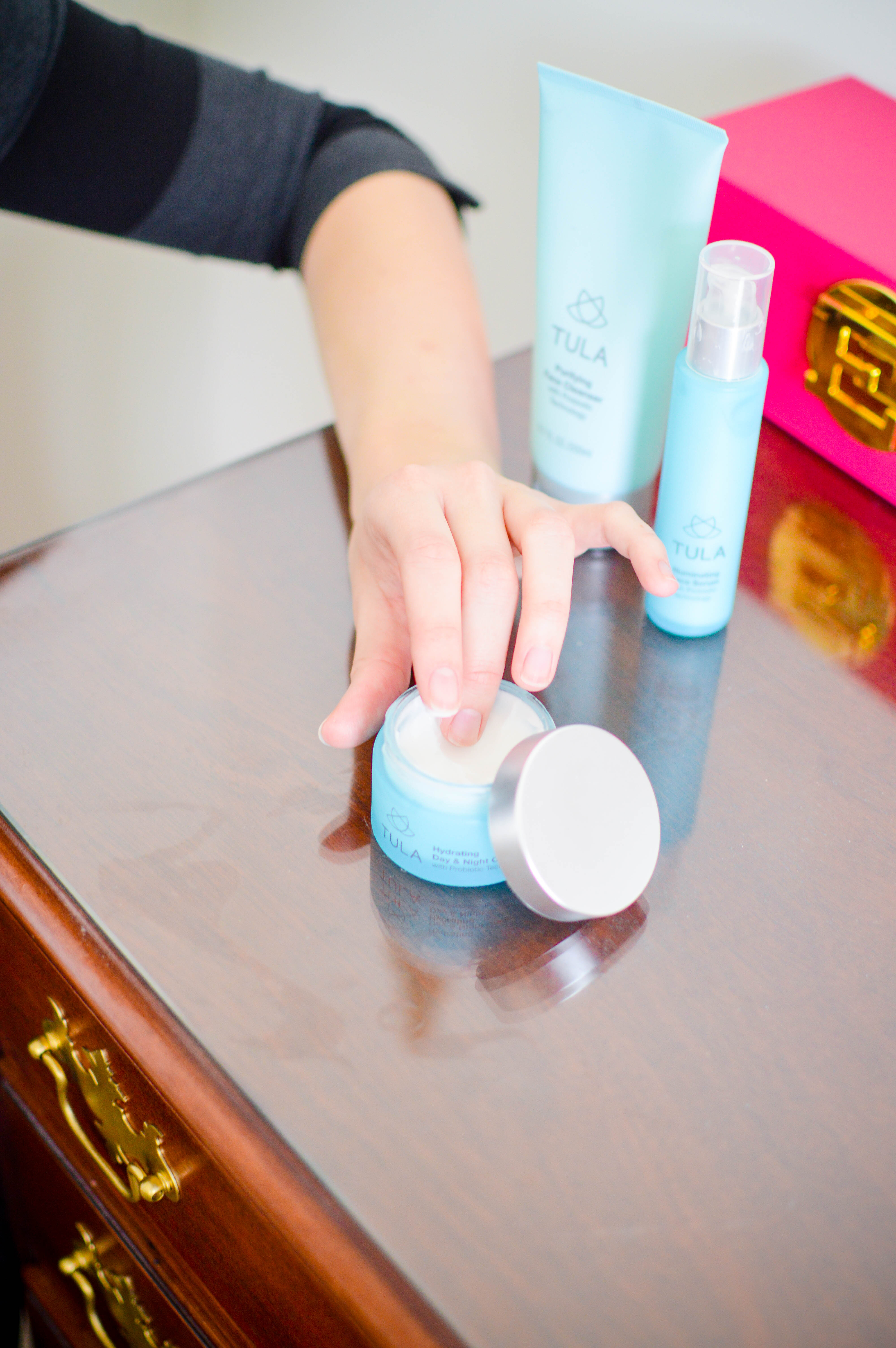 Dealing With Pregnancy Acne Using Tula | Breezing Through