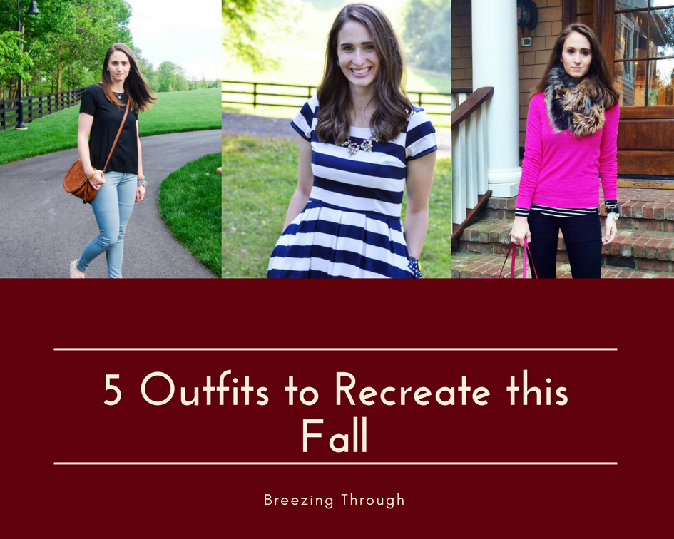 5 Outfits to Recreate This Fall