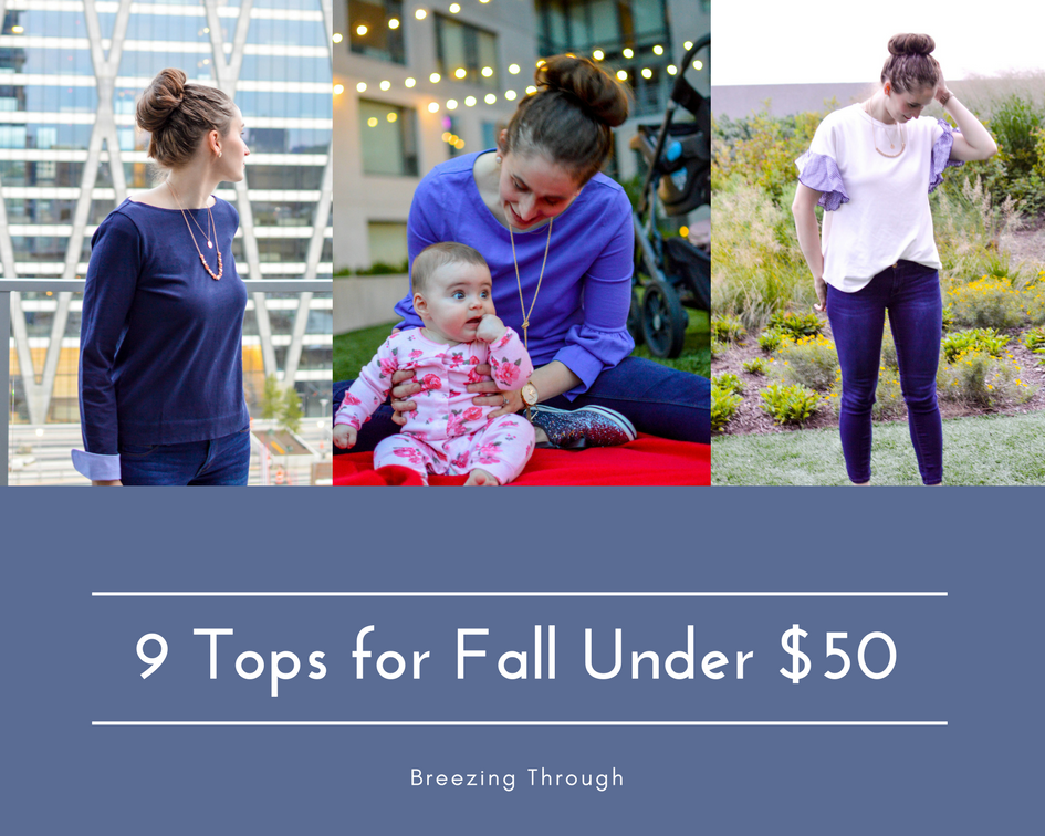 9 Tops for Fall under $50