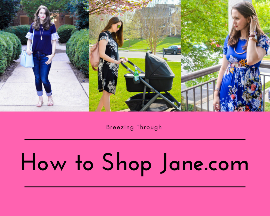 How to Shop Jane.com | Breezing Through