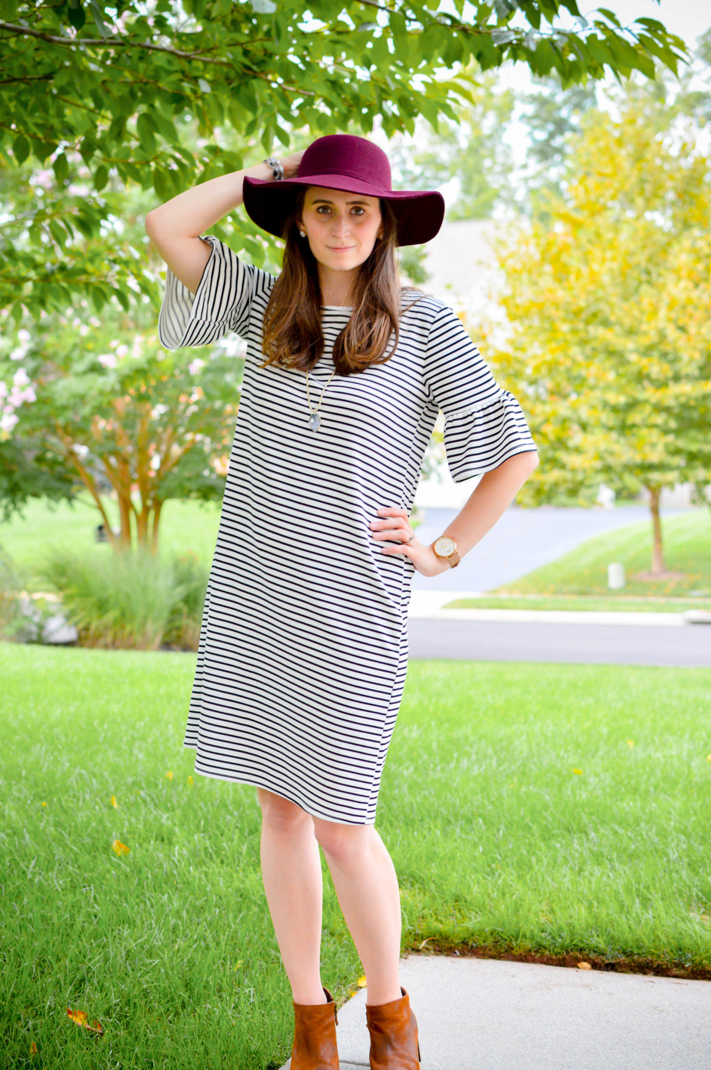 The Poppy & Dot Dress With the Stripes | Breezing Through