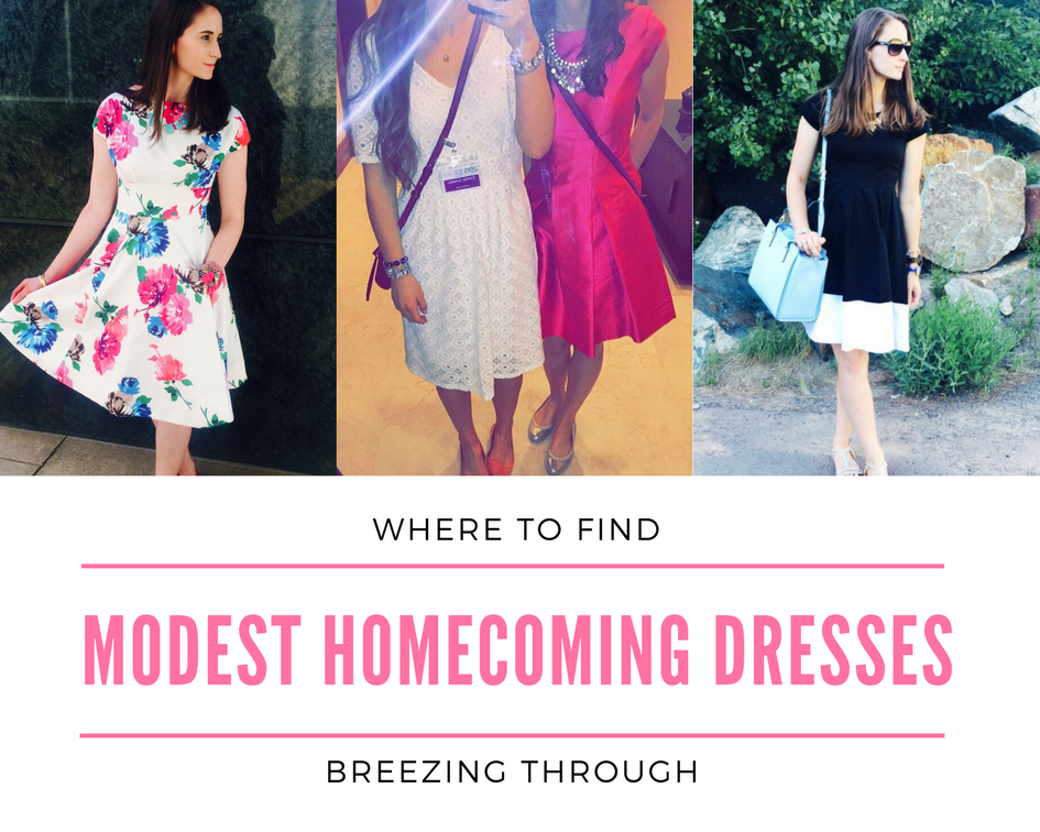 Where to Find Modest Homecoming Dresses
