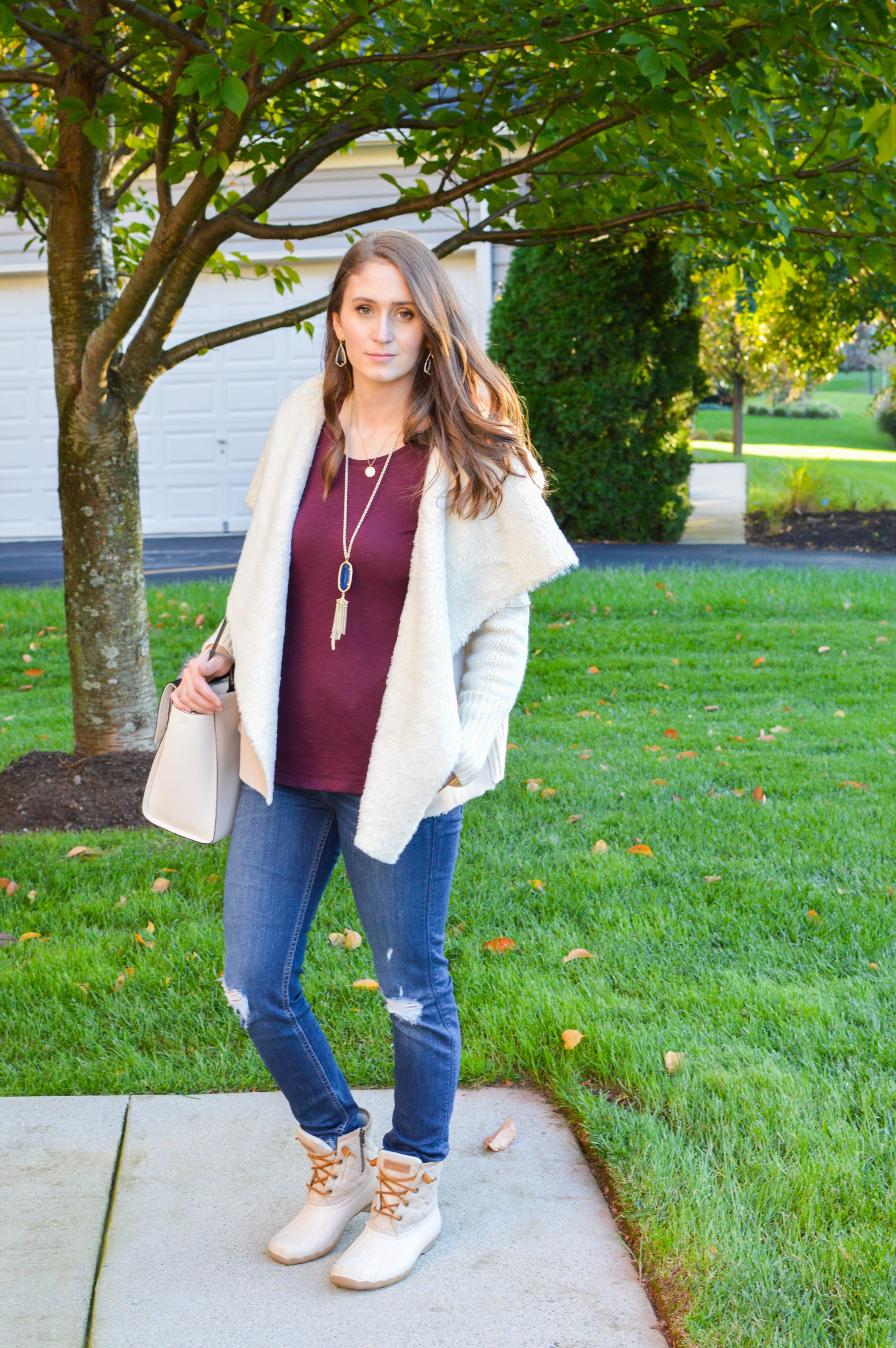 Sweater Meets Jacket with Hashtag DNA | Breezing Through