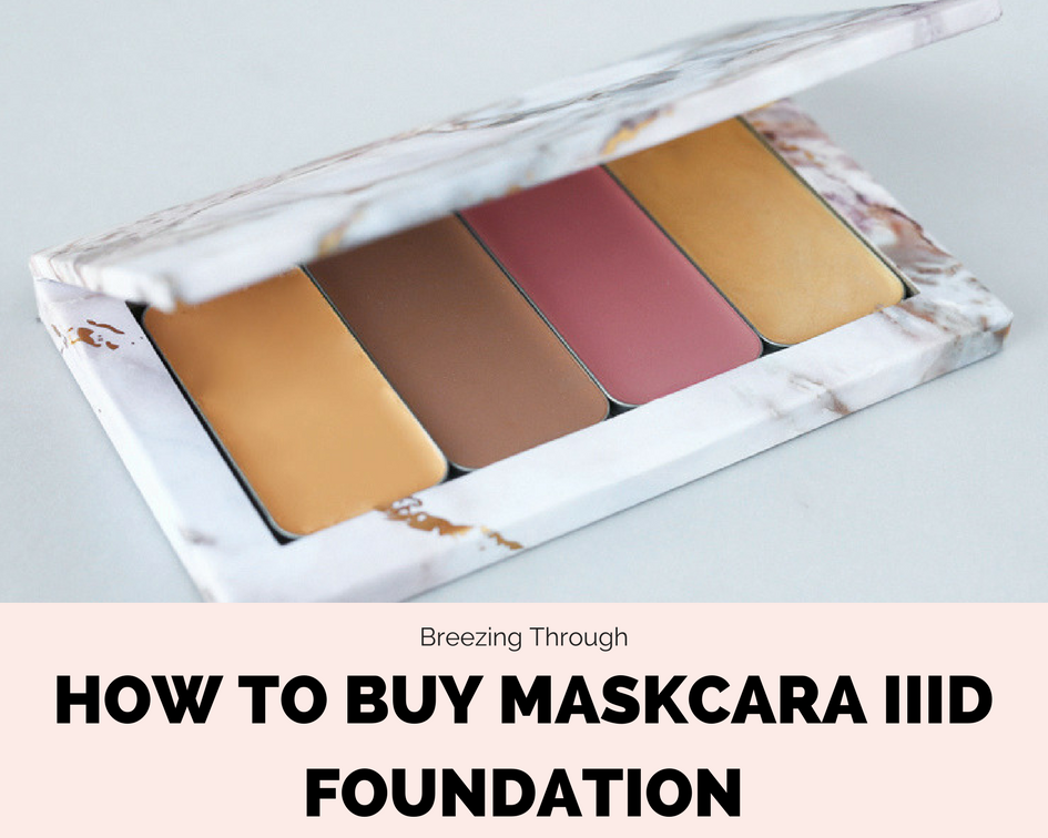 How to Buy Maskcara IIID Foundation