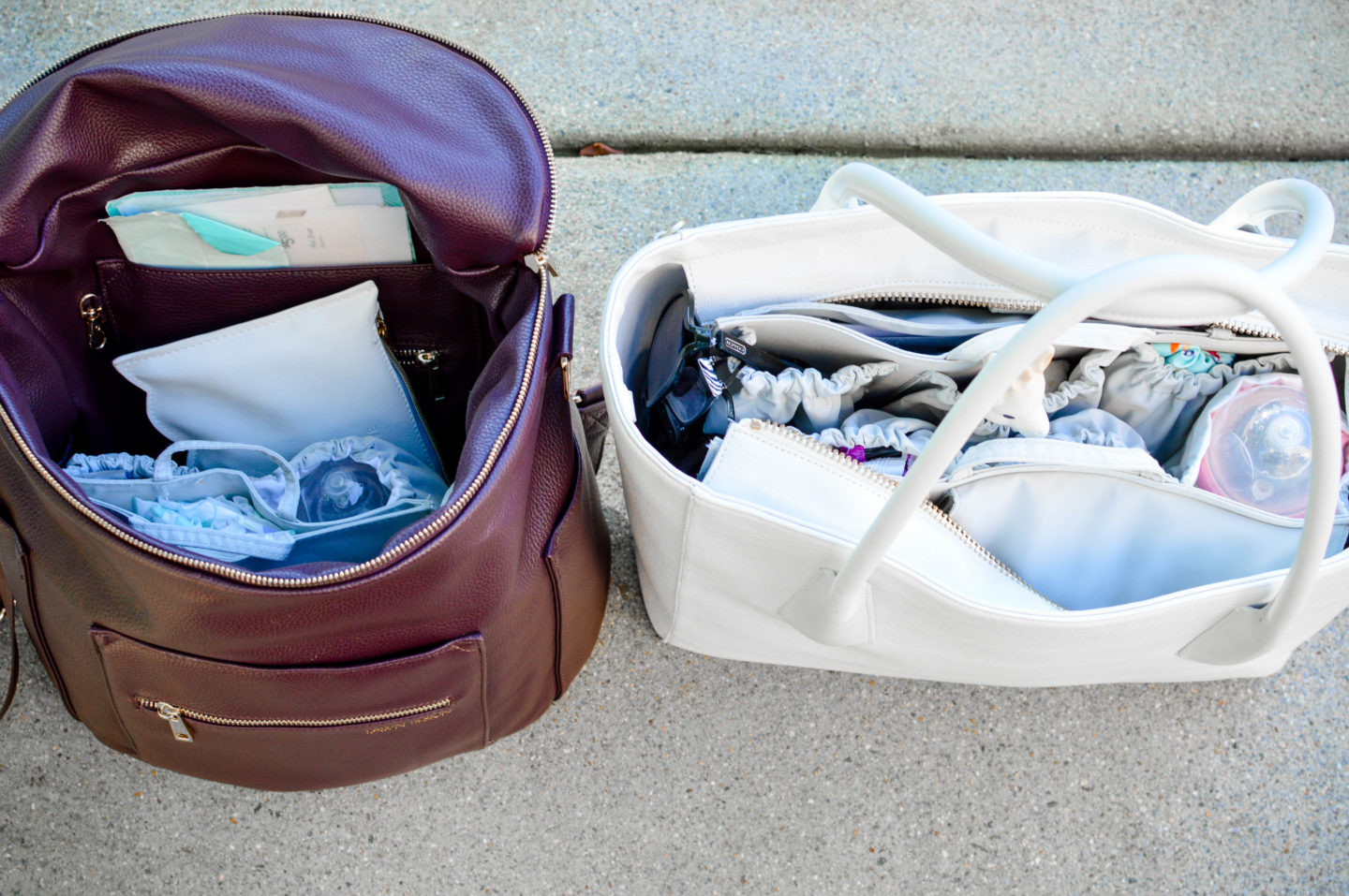 Making Any Purse A Diaper Bag With Tote Savvy Breezing