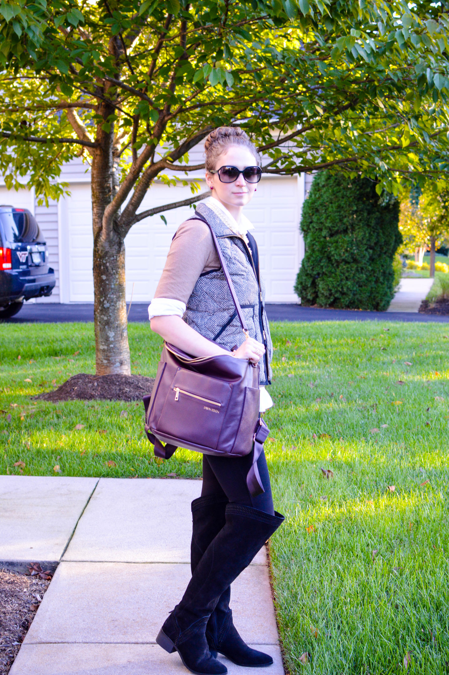 Making Any Purse A Diaper Bag with Tote Savvy | Breezing Through