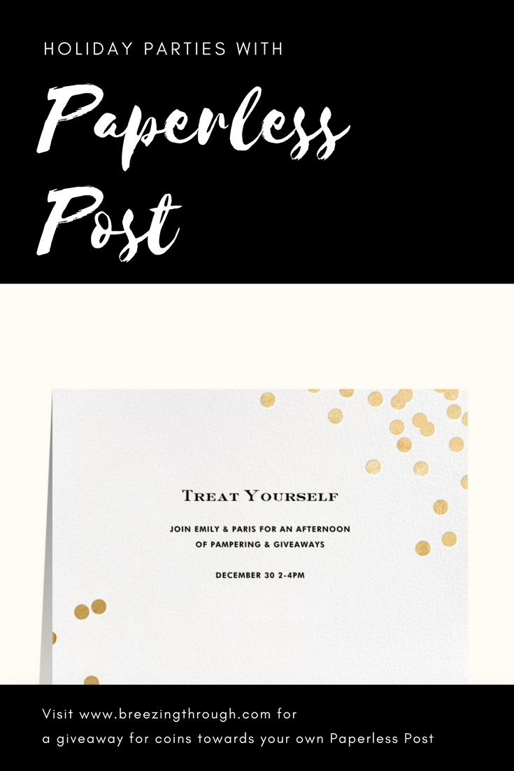 Holiday Parties with Paperless Post | Breezing Through