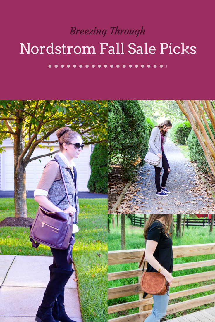My Picks From The Nordstrom Fall Sale | Breezing Through