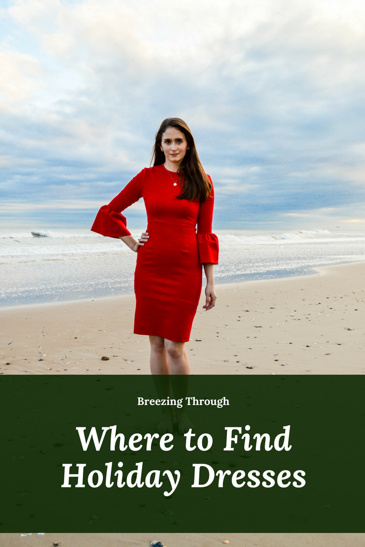 Where to Find Holiday Dresses | Breezing Through