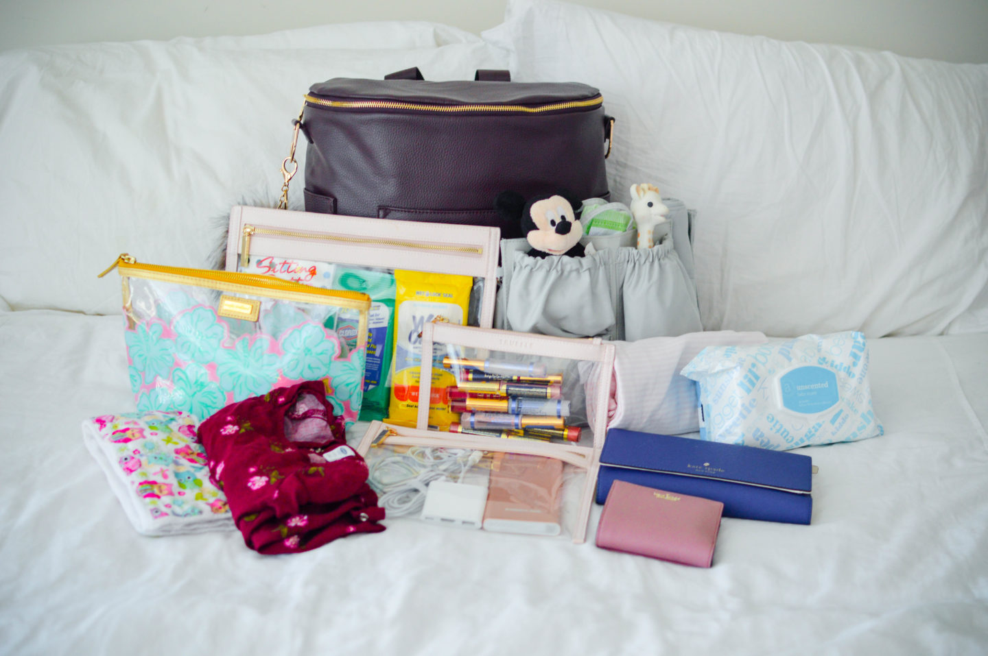 What's In My Diaper Bag | Breezing Through